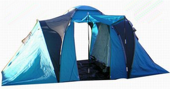6 PERSON 2 BEDROOMS DUAL LAYERS DOME SEAM SEALED CAMPING TENT 2 MAIN ENTRANCES TUB STYLE FLOOR 1 LIVING AREA D DOORS CANVAS CARRY BAG 4.0X2.1X1.7M ...  sc 1 th 163 & tent.jpg