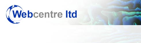 Webcentre Ltd - Web site design, hosting, maintenance and support services and custom software development